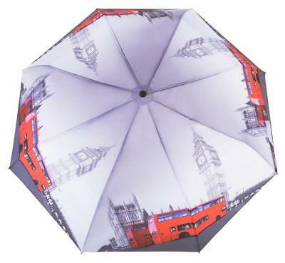 Knirps Belami Folding Telescopic Umbrella Automatic Open & Close London