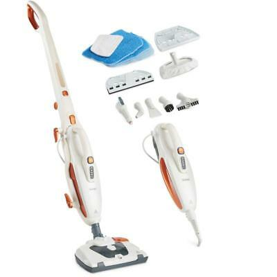 White Steam Mop Multi Functions Kitchen House Handheld Corded Steam Tools Inc
