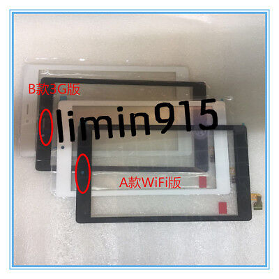 Front Touch Screen Digitizer Glass Lens Panel For Alcatel One Touch Pixi 4 8063