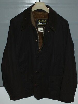 Barbour beaufort jacket  waxed cotton brown + inner pile +  pin   c50-127  xxl
