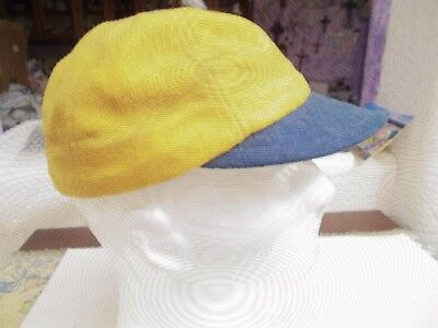 Vintage Antique Short Brim Early Mid 1920 s-1930 s Baseball Uniform Cap Hat 298dc145ec6e