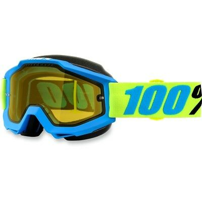100% Racecraft Belize Clear Lens Skiing Snowboard Winter Snowmobile Goggles