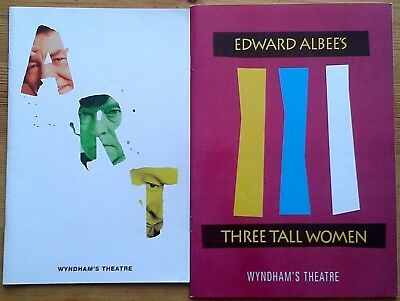 Selection of individual Wyndham's Theatre programmes 1990s, West End programme