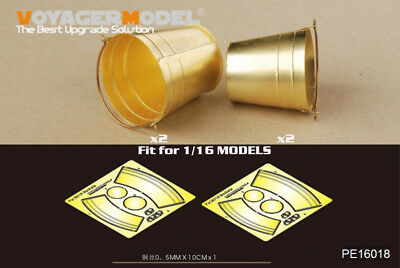 Voyager Models 1/16 Buckets for Universal Use (4 buckets in 2 different sizes)