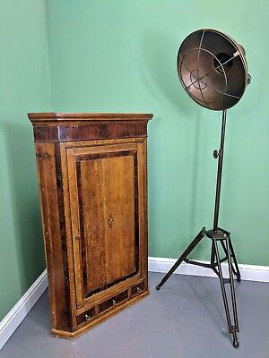 An Antique Early 19th Century Oak Corner Cupboard ~Delivery Available~