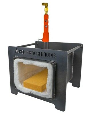 Propane Gas Forge for Knifemaking Farriers & Blacksmith Metal Forging