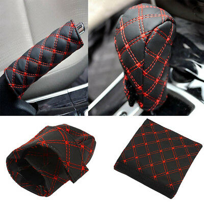 Red Stick Speed Manual Handle Cover New Lever Shifter Gear Shift