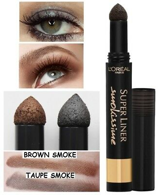 Smokey smoke Eyeliner Eye shadow Powder by Loreal in 4 shades smokissime smudge