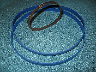 Blue Max Urethane Band Saw Tires And Drive Belt For Craftsman 124.21400 Band Saw