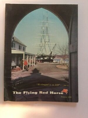 The Flying Red Horse Magazine Of The Mobil World Summer 1959 BOAT BOOM  - STEAM