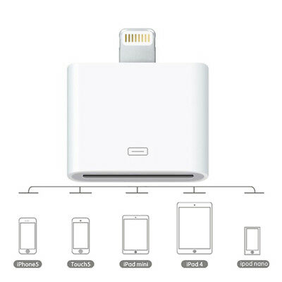 F13 Lightning auf Dock Connector 30pin Adapter für Apple iPhone 5 iPod Touch 5