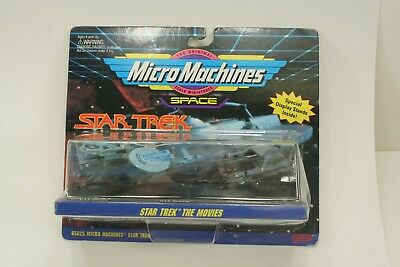 NEW *Sealed* STAR TREK Movies Micro Machines SHIPS IV Collectible Black Base