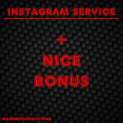 Instagram Service Follow 100-10.000 | Fast Delivery | Safe, Secure, Quality