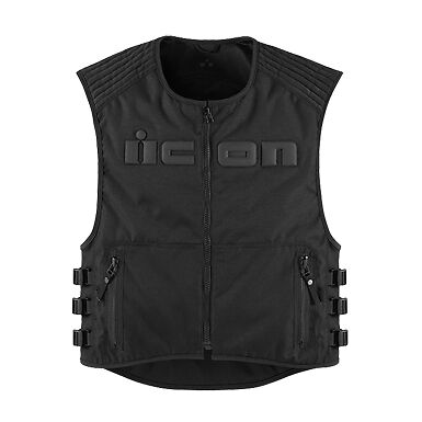 2015 Icon Brigand Street Riding Cycle Protection Gear Jacket Motorcycle Vest