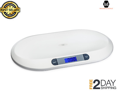 Baby Weighing Scale With 3 Weight Modes 44 Pound LCD Display Smart Weigh Comfort