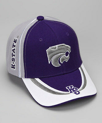 Kansas State Wildcats Adjustable Youth Baseball Hat NWT