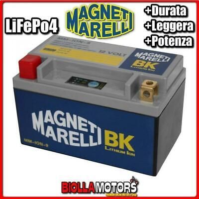MM-ION-9 BATTERIA LITIO MAGNETI MARELLI YT12A-BS LiFePo4 YT12ABS MOTO SCOOTER QU