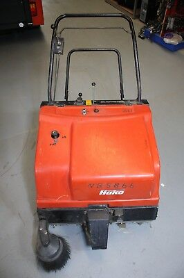 Hako Hamster 780 Battery Walk Behind Commercial Industrial Floor Sweeper - Used