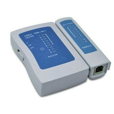 LinkBasic RJ11/RJ12/RJ45 Network Cable Tester with Pouch