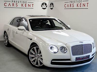 2014 Bentley Flying Spur 4.0 V8 4dr Auto Petrol white Automatic