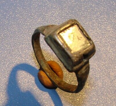 Ancient Bronze ring, Middle Ages. Original