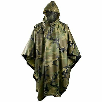 Camping & Hiking Other Camping & Hiking Adaptable Helikon Tex Htx Camogrom Camouflage Multicamo Tarnumhang Poncho Regenumhang