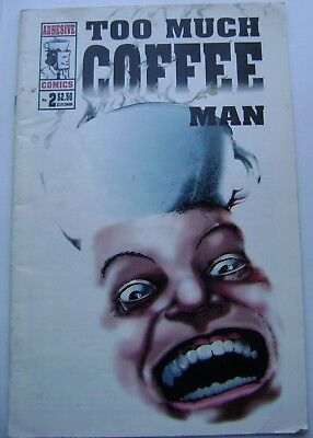 Too Much Coffee  Man 2 Shannon Wheeler. Adhesive comics. 03/1994 first printing