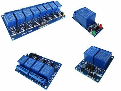 Module d'interface - Carte 1, 2, 4 ou 8 Relais 5V isolé - Arduino Raspberry
