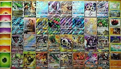POKEMON LOTTO 20 CARTE con EX GX PRISMA in ITALIANO GARANTITA! (NO 20 EX/GX)
