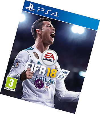 Fifa 18 (Ps4) Brand New Sealed Uk Official