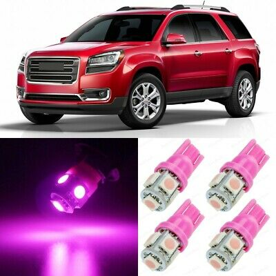18 x Ultra Pink Interior LED Lights Package For 2007 - 2015 GMC Acadia +TOOL