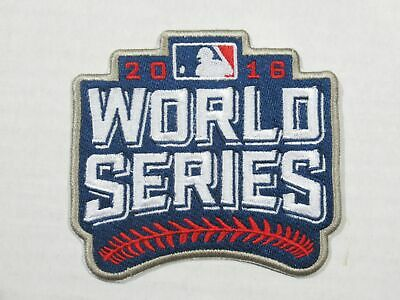 2016 MLB Cleveland Indians vs Chicago Cubs World Series Bound Sewn-On Patch