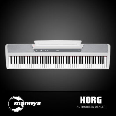 Korg SP-170S 88-Key Hammer Action Stage Piano (White)