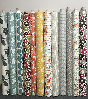 Scandinavian Style Oilcloth Fabric Wipe Clean Tablecloth Scandi Design Per Meter