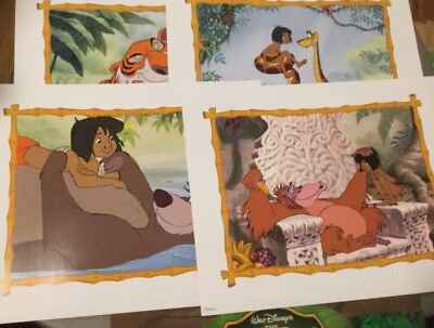 Jungle Book 40th Anniversary Edition Lithos & 2016 Movie Promo Poster, RealD 3D