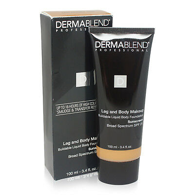 Dermablend Leg and Body Cover Make-Up SPF 25 Tan Honey 45W 3.4 Oz