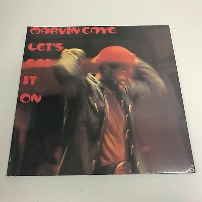 """MARVIN GAYE Lets Get It On"" VINYL LP NEW  SEALED"