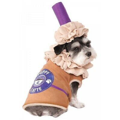 Puppy Latte Costume Pet Halloween Fancy Dress