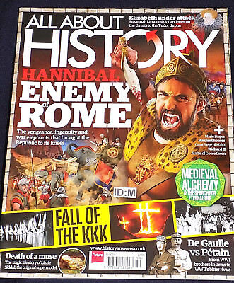 All About History #50 Hannibal De Gaulle Vs Petain Richard Ii Fall Of The Kkk