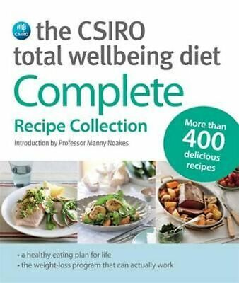 NEW The CSIRO Total Wellbeing Diet By CSIRO Paperback Free Shipping