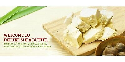 Shea Butter Raw African Unrefined Ivory Organic Premium Grade A 100% Plant based