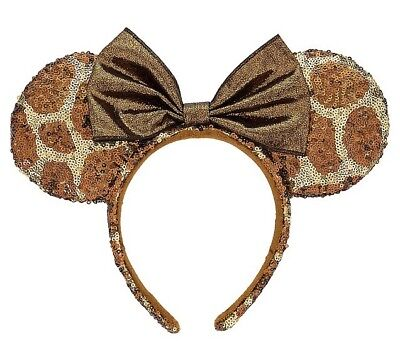 Disney Parks Minnie Bow Giraffe Ears New Animal Kingdom