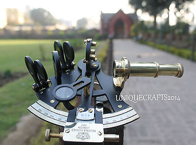 Marine Maritime Nautical Solid Sextant Vintage Style Ship Navigation Sextant