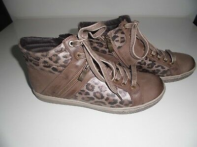 best authentic finest selection quality products CAPRICE DAMEN SNEAKERS Gr. 38 = 5 mit Leo-Design in taupe ...