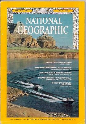 national geographic-JULY 1967-LAKE POWELL.