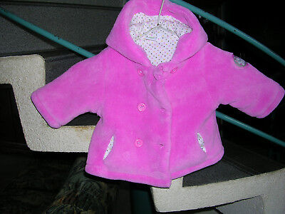 veste polaire rose Taille 3Mois Marque Disney Baby Fille occasion
