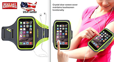 Sports GYM Running Exercise Armband Case w/ Key Slot For  Iphone 7 / 6S / 6 NEW