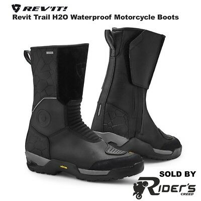 Rev'it! Trail H2O Waterproof WP Touring Road Motorcycle Boots | Rev it Revit