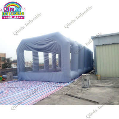 Inflatable Spray Booth Car Paint Booths Car Tent For Painting With Filter 8*4*3m