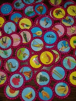 LOTERIA DON CLEMENTE on Epoxy Bottle caps 54 Images Boards Bingo Game  Chalupa